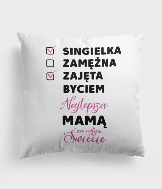 Poduszka Zajęta Mama