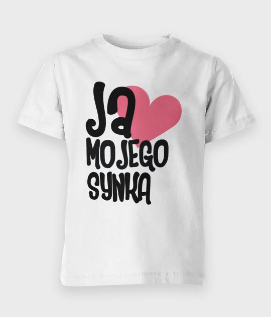 Koszulka dziecięca Kocham synka