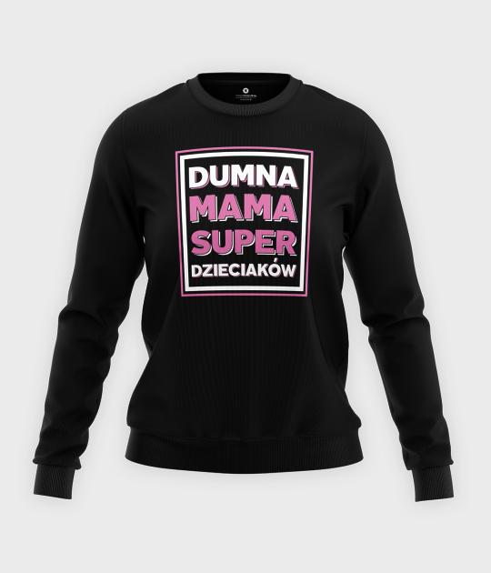 Bluza klasyczna damska Dumna mama 3