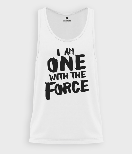 Tank top męski One with force
