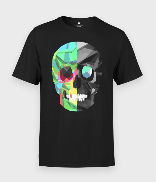 Koszulka męska Two-color skull
