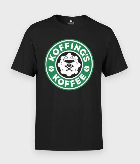Koszulka męska Poke coffee