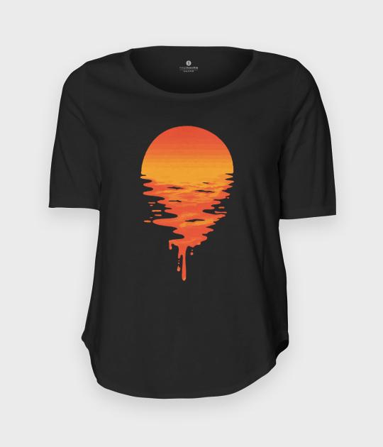 Koszulka damska trzy czwarte Sunset 4