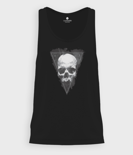 Tank top męski Skull in triangle