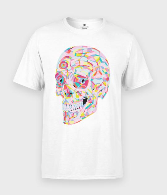 Koszulka męska Abstract Skull