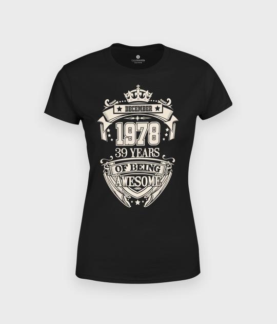 Koszulka damska trzy czwarte Urodziny + Twój miesiąc, rok, wiek
