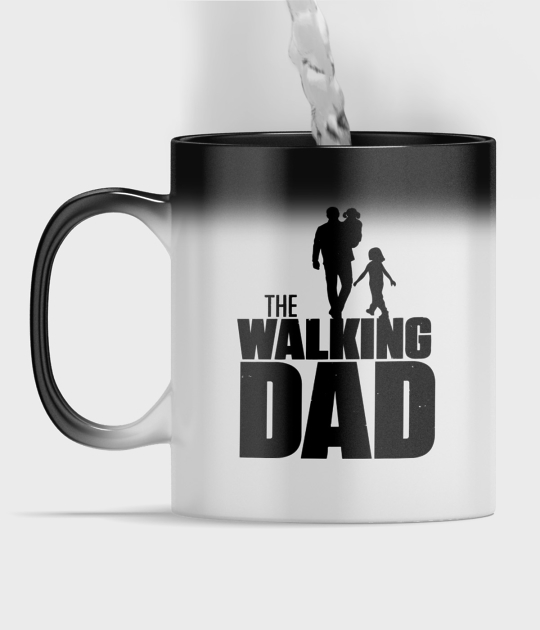 Kubek magiczny full print The Walking Dad