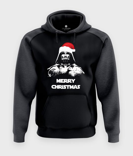 Bluza męska dwukolorowa Premium Vader christmas