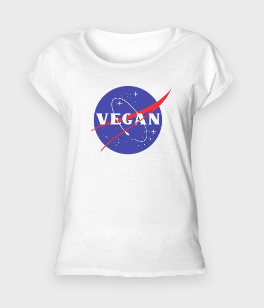 Koszulka damska rolls NASA Vegan
