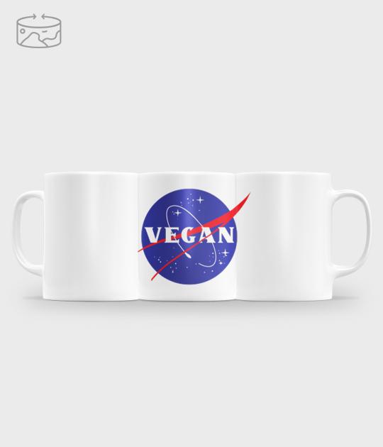 Kubek (panorama) NASA Vegan
