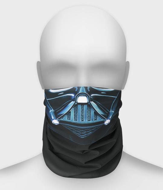 Komin na twarz fullprint z maską Vadera