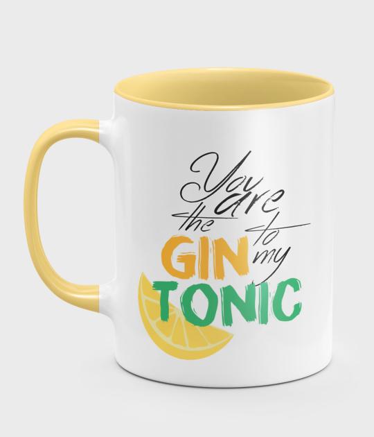 Kubek kolorowy Gin and tonic