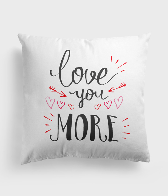 Poduszka Love you more