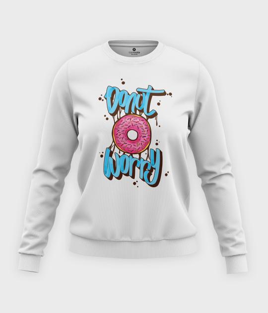 Bluza klasyczna damska Donut Worry