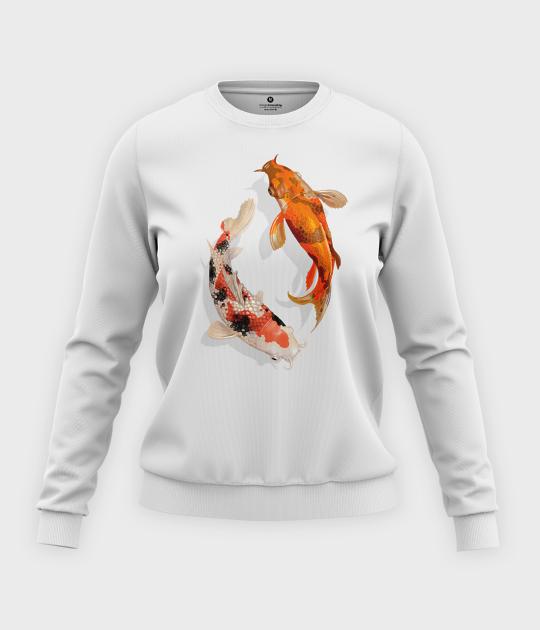 Bluza klasyczna damska Koi