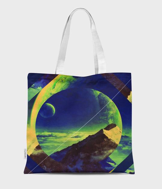 Torba full print Moon 3