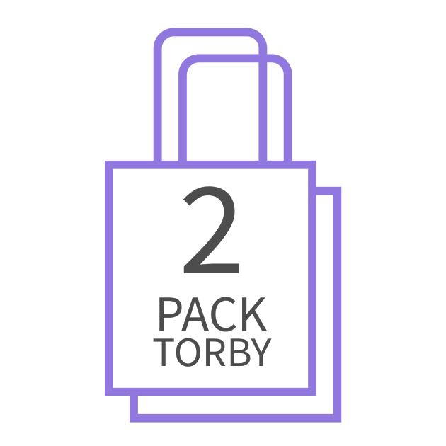 Dwupak torby