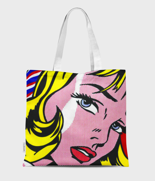 Torba full print Pop Art Girl 3