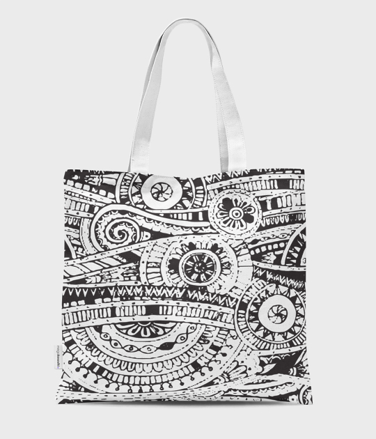 Torba full print Aztec Abstract 2