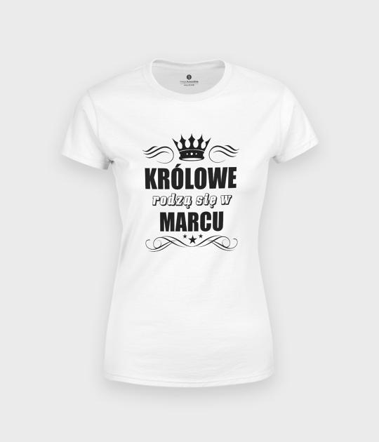 Koszulka damska Królowe + Twój miesiąc
