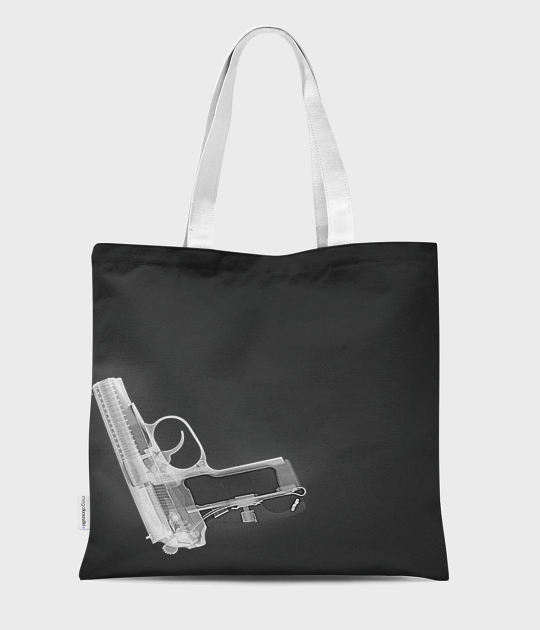 Torba full print Gun in my bag