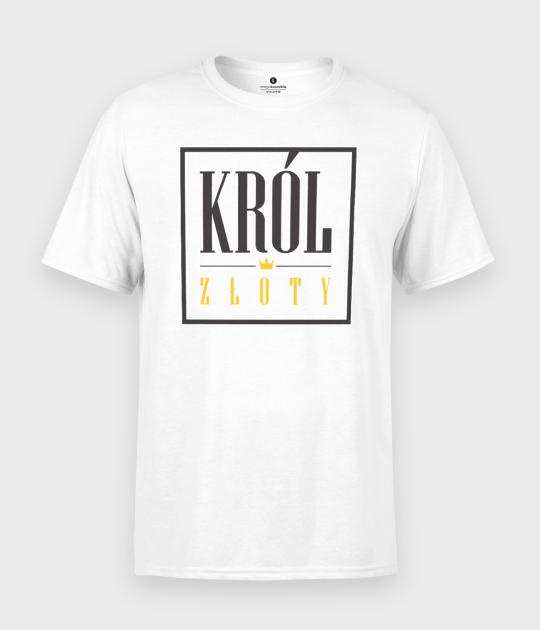 Koszulka męska Król złoty 2