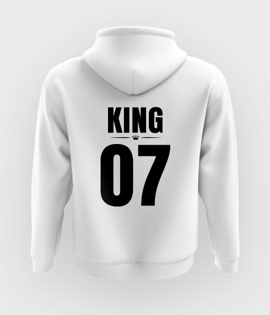 Bluza z kapturem King 07