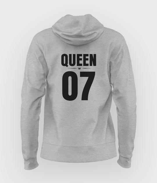 Bluza damska z kapturem Queen 07