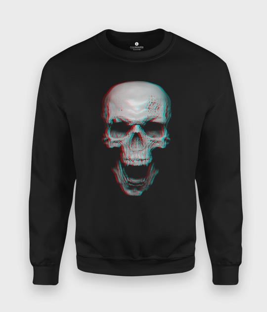 Bluza klasyczna Skull 3D 2