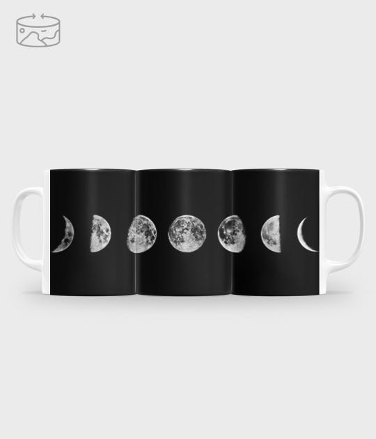 Kubek full print (panorama) Księżycowy