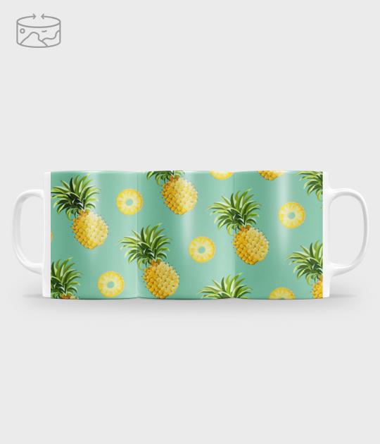 Kubek full print (panorama) Pineapple mug