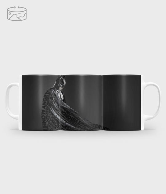 Kubek full print (panorama) Dark knight