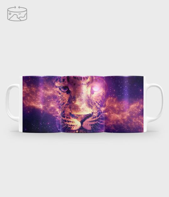 Kubek full print (panorama) Galaxy lion