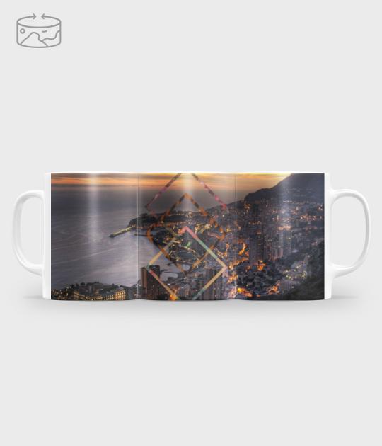 Kubek full print (panorama) City break