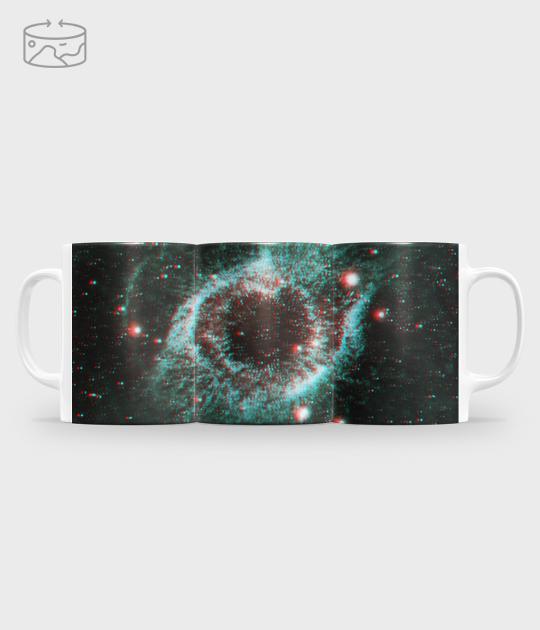 Kubek full print (panorama) Galaxy 3D