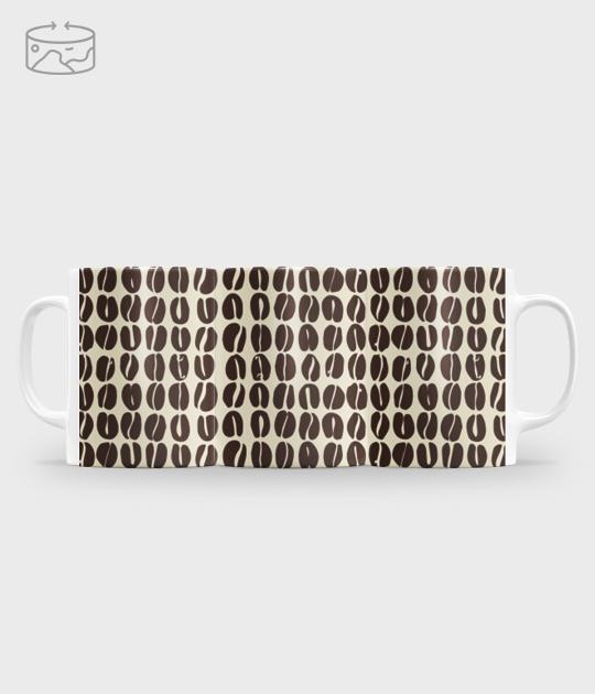 Kubek full print (panorama) Coffee 3