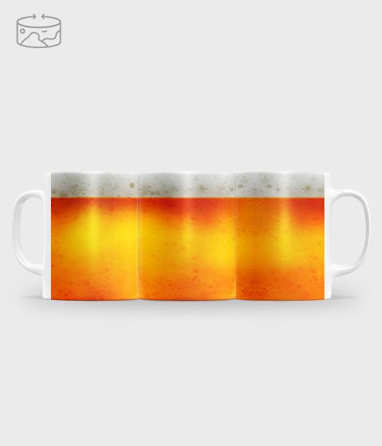Kubek full print (panorama) Beer mug