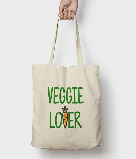 Torba bawełniana Veggie lover