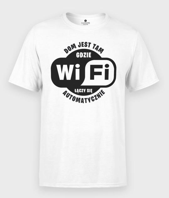 Koszulka męska WiFi łączy się automatycznie