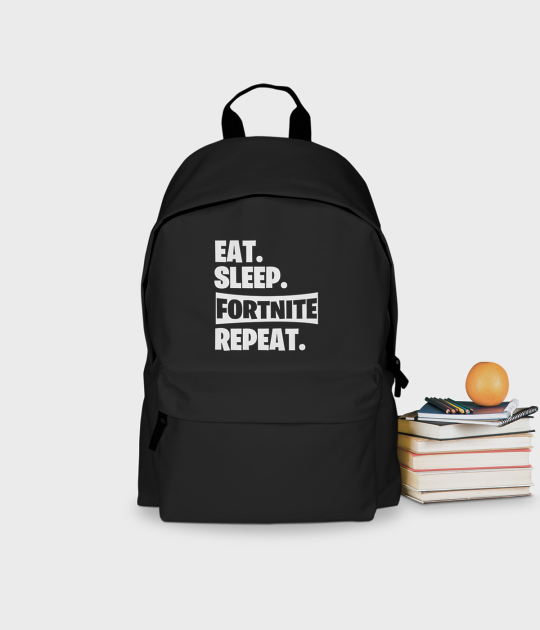 Plecak szkolny Eat Sleep Fortnite Repeat