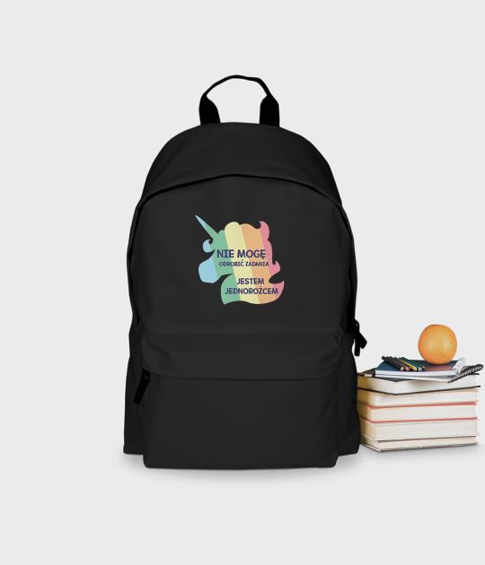 Plecak szkolny Jestem Jednorożcem