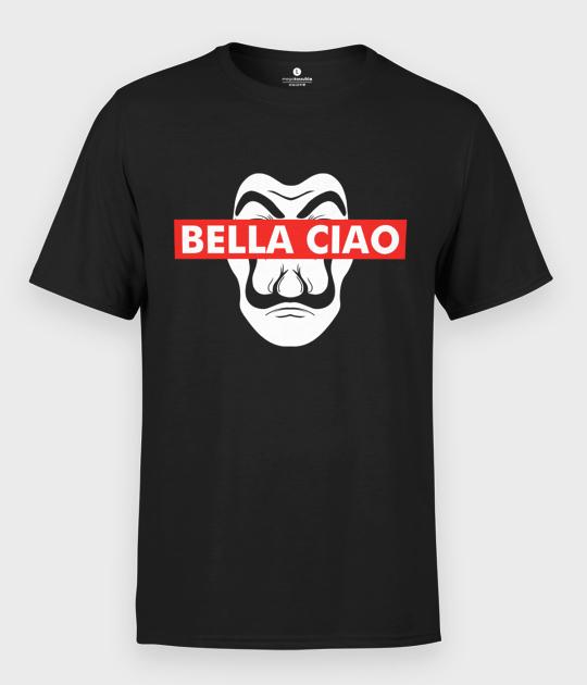 Koszulka męska Bella Ciao Dali