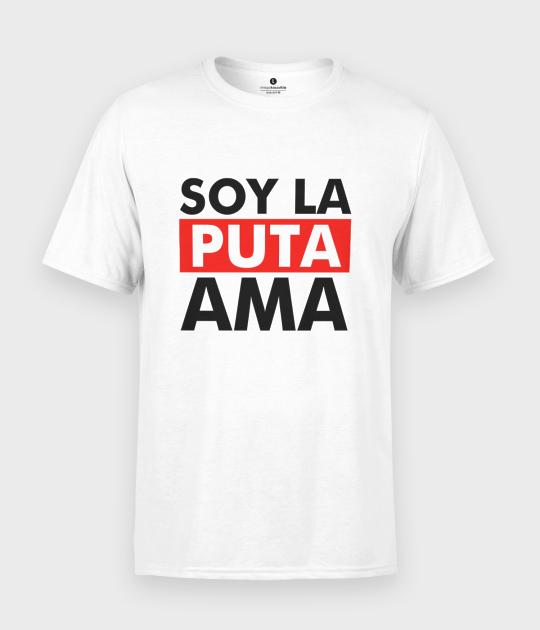 Koszulka męska Soy la Puta ama