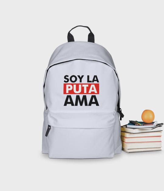 Plecak szkolny Soy la Puta ama