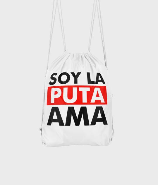 Plecak workowy Soy la Puta ama