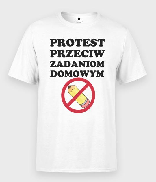Koszulka męska Protest Przeciwko Zadaniom Domowym