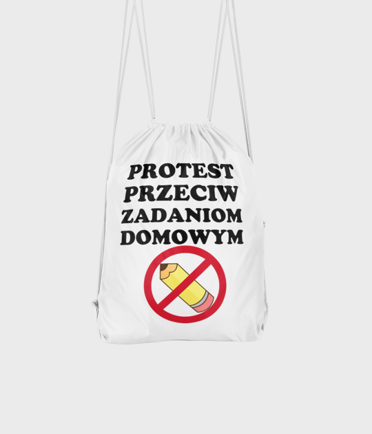 Plecak workowy Protest Przeciwko Zadaniom Domowym