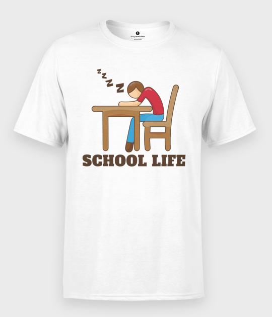 Koszulka męska School Life
