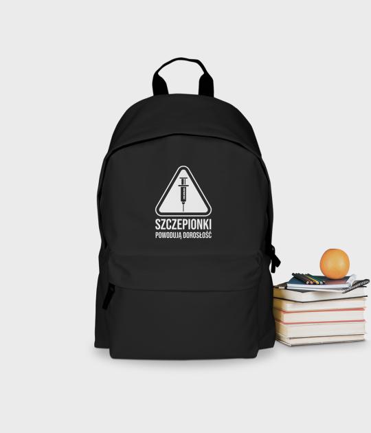 Plecak szkolny Szczepionki powodują dorosłość