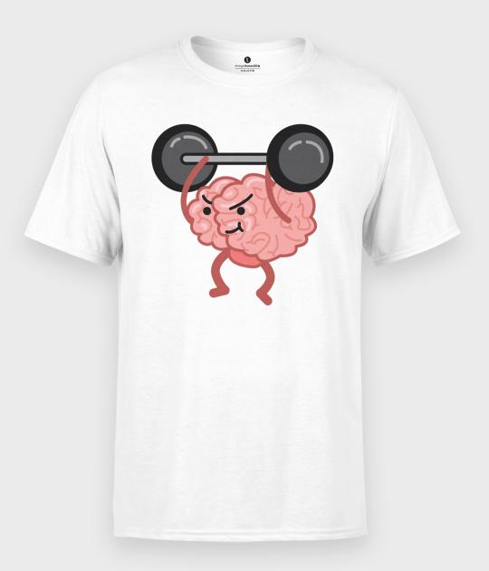 Koszulka męska Silny Mózg